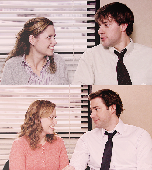 pam & jim - the office