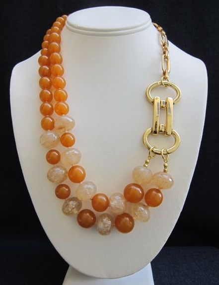 Pin by Jacoba on Necklaces | Pinterest | Jewelry ideas, Beads and ...