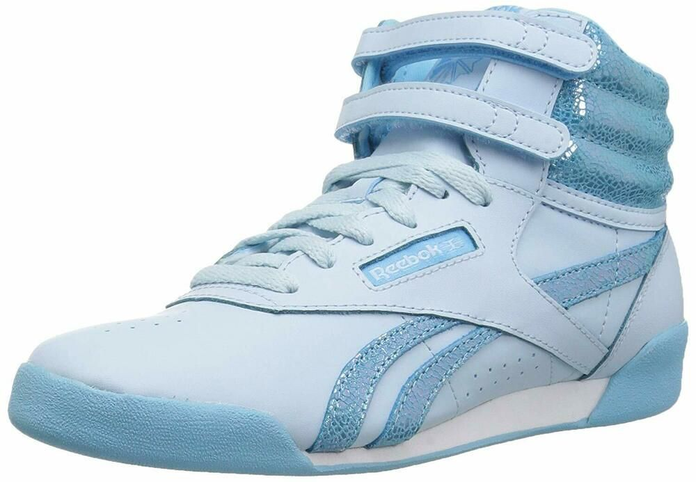 Sponsored)eBay Reebok Kids' Freestyle Hi, Blue, Size 11.5