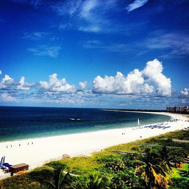 Marco Island Beaches: Swim In The Water Of Marco Island's Crescent Beach. (Marco