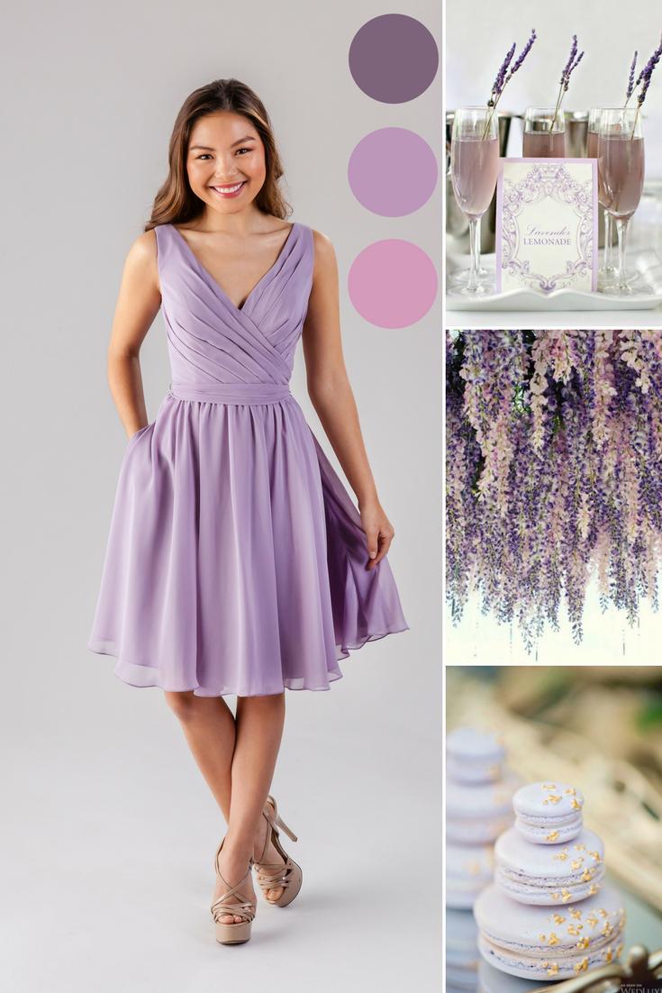 Faith Lilac Bridesmaid Dresses Bridesmaid Dresses Short Purple Lilac Bridesmaid Dress Short