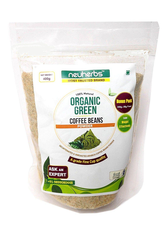 Neuherbs 100 Natural Organic Green Coffee Beans Powder