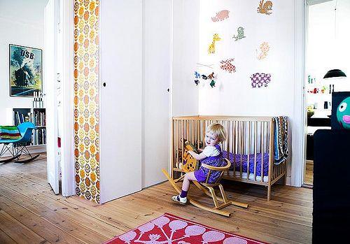 Ambientes que inspiran: Habitación infantil con look vintage