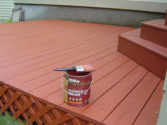 When It Comes To Purchasing Deck Stain You Have Three Basic Choices Solid Stains Semi Transpa And Clear