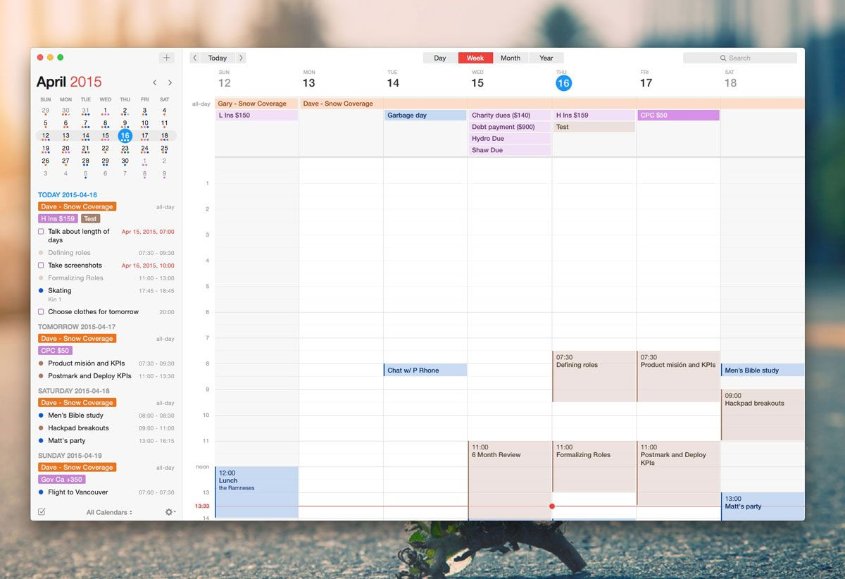 The Best Calendar App For Mac Best Calendar App Calendar App