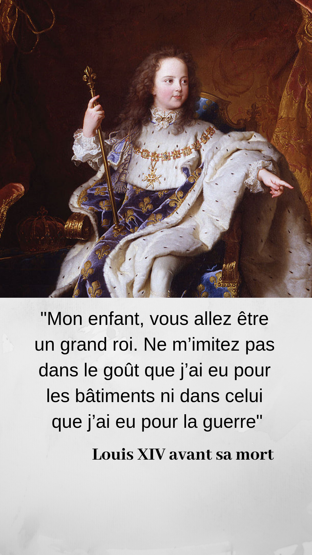 Epingle Sur Le Regne De Louis Xiv En Citations