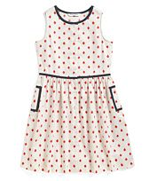 Cotton Ikat Print Dress
