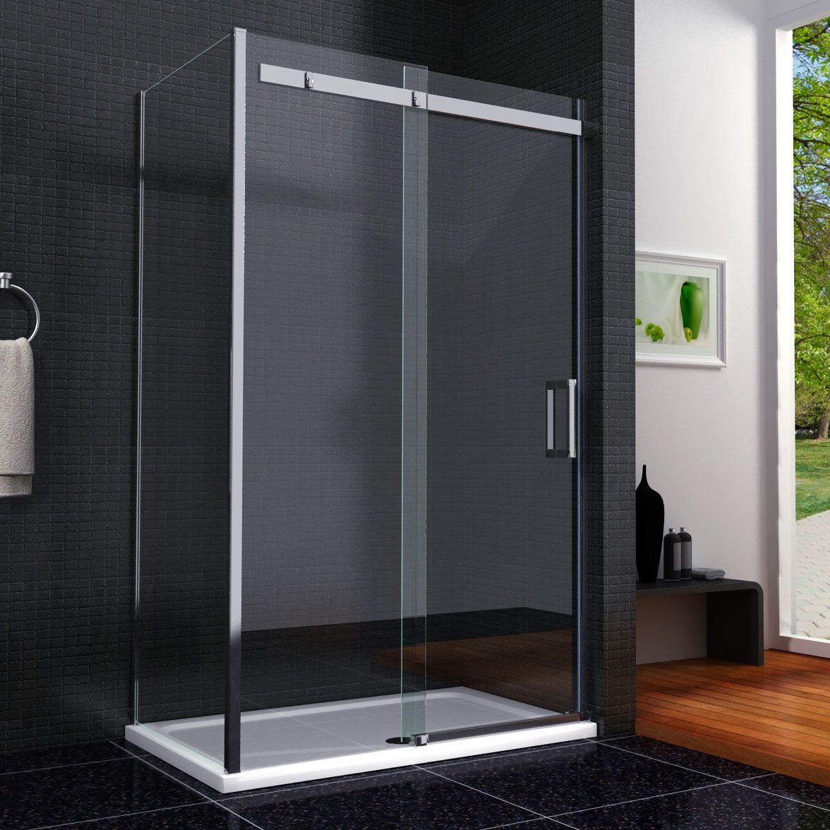 Shower bath screen | Bathroom | Pinterest | Shower enclosure ...