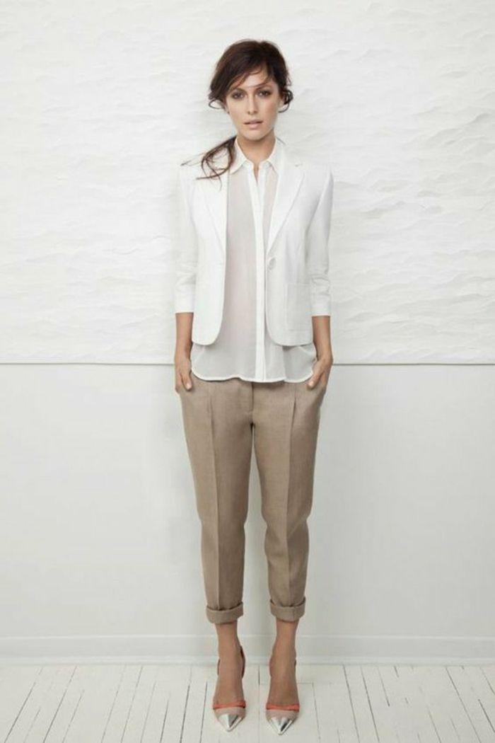 Chemise blanche femme - comment la porter pour un look moderne ... 45c9c53fa9de