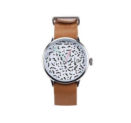 Hnědé dámské hodinky s koženým páskem Cheapo Harold Mini Memphis ... 88ecb4012f