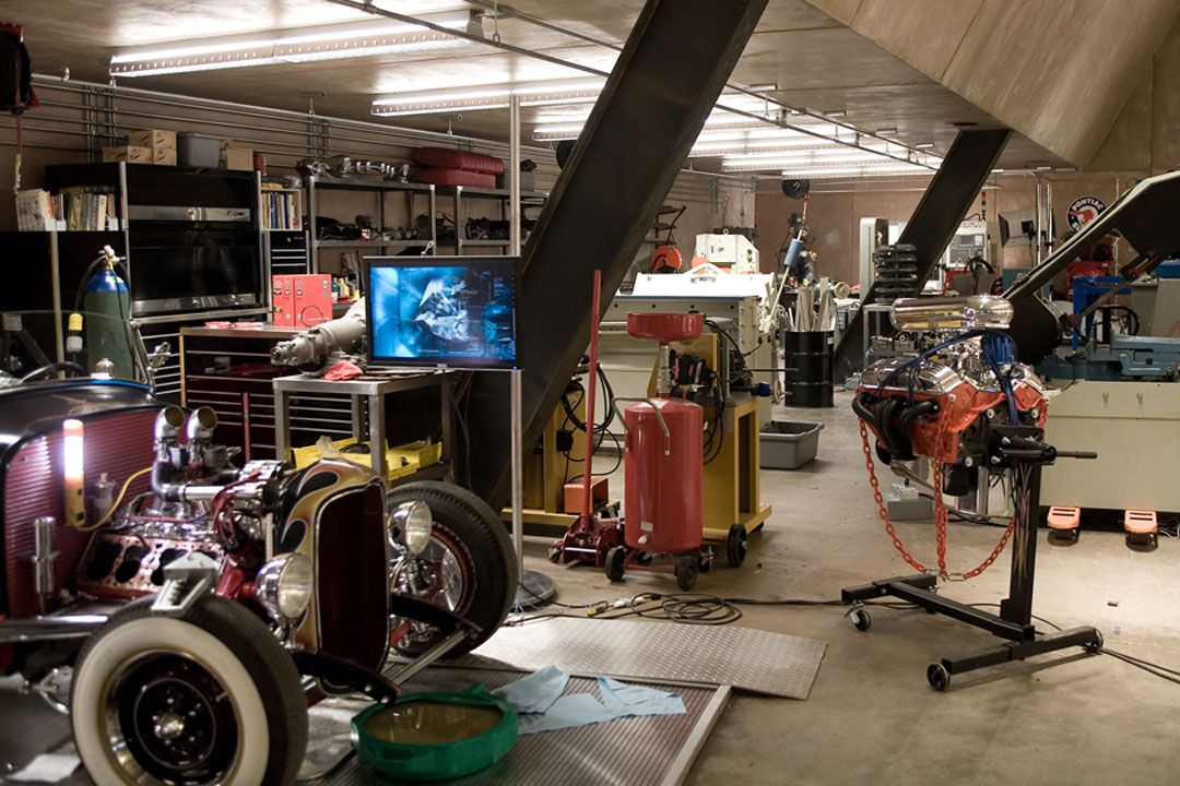 Garage Man Cave Designs