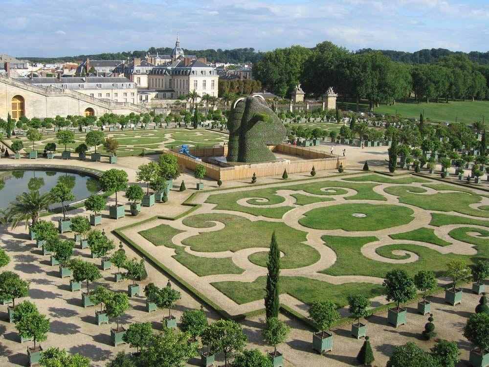 Images et photos du chateau et du parc de versailles france la galerie des glaces la galerie - Parcs et jardins de france ...
