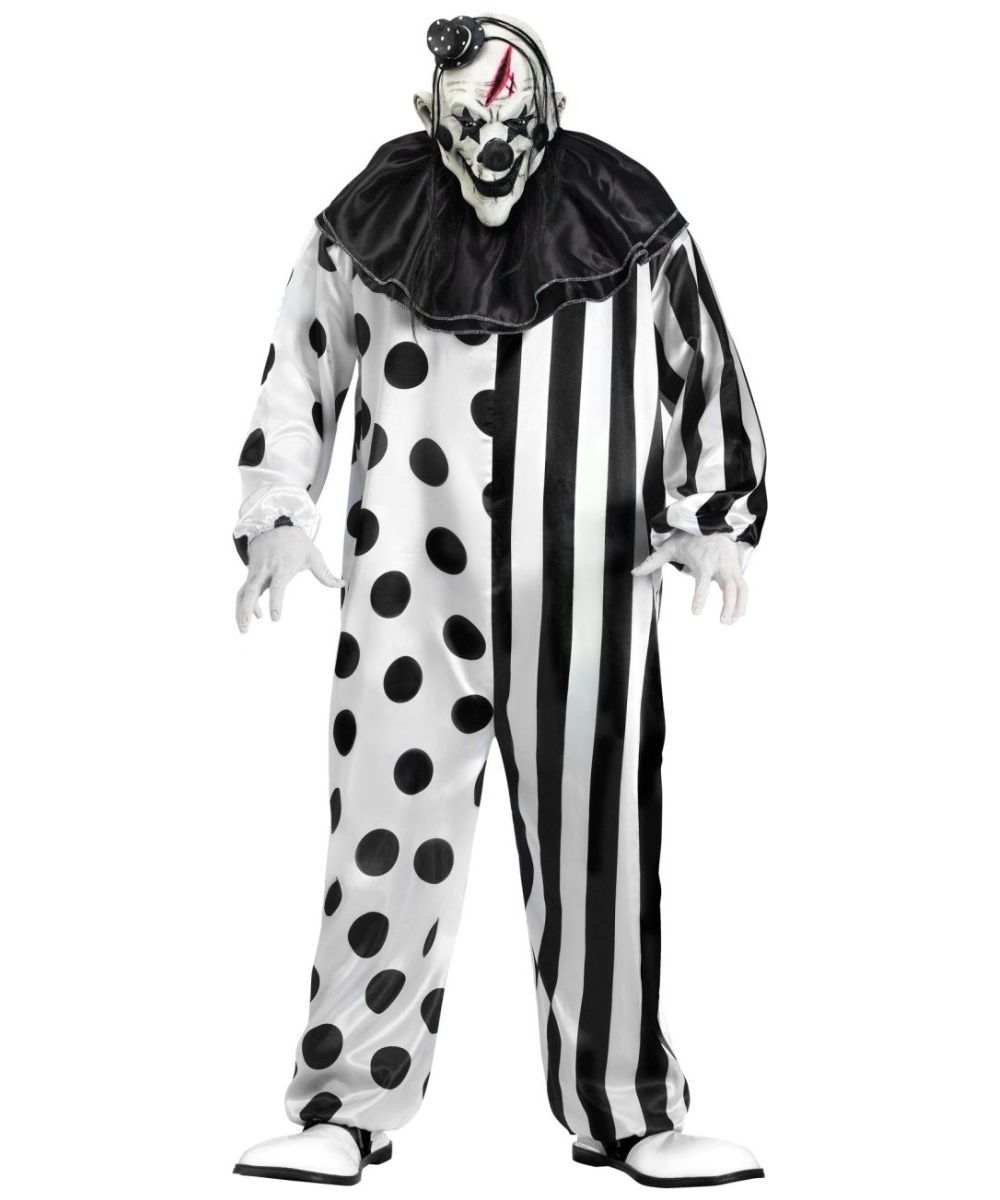 killer clown costume creepy clown white costumes and costumes