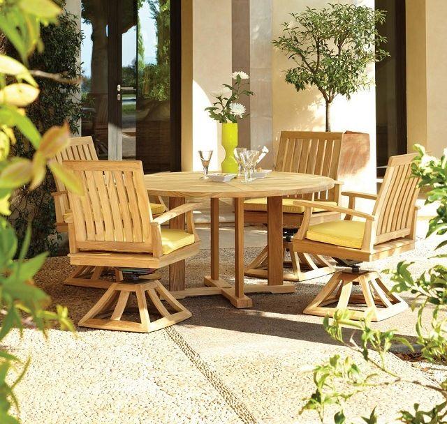 Espace patio »Mobilier de jardin en teck - Conseils d ...