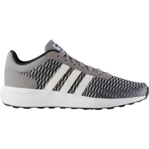 2280ec6bde7ec0 Adidas Boys  Cloudfoam Race Running Shoes (Core Black Footwear White Grey