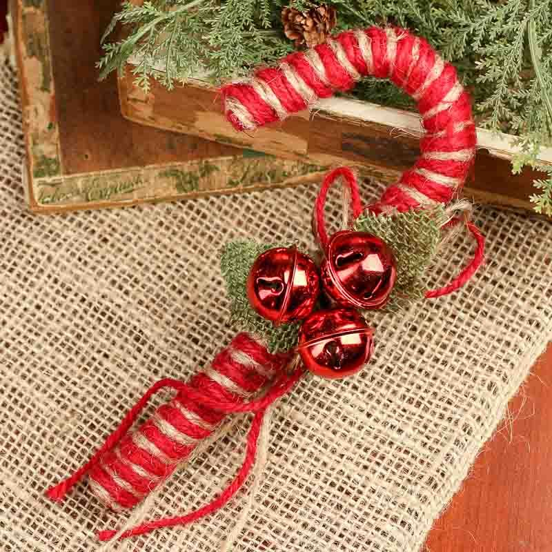 Glass Candy Cane  Christmas Ornaments  Glass Ornament  Candy Cane Ornament  Candy Cane Ornament  Tree Trimmings  Holiday Decoration