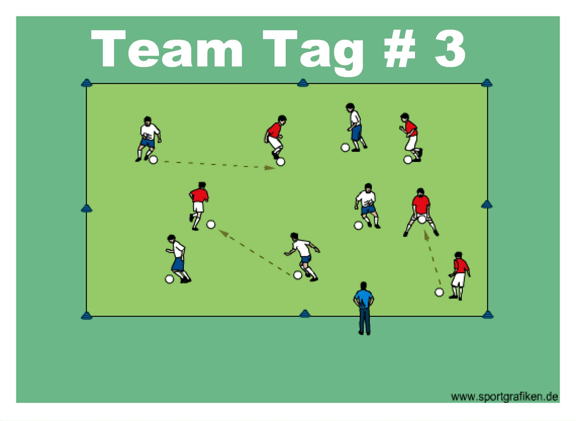 Team Tag 3 The Following Soccer Passing Drills Are Aimed At Developing Passing Skills Of Your Team They Will Als Soccer Passing Drills Soccer Soccer Drills