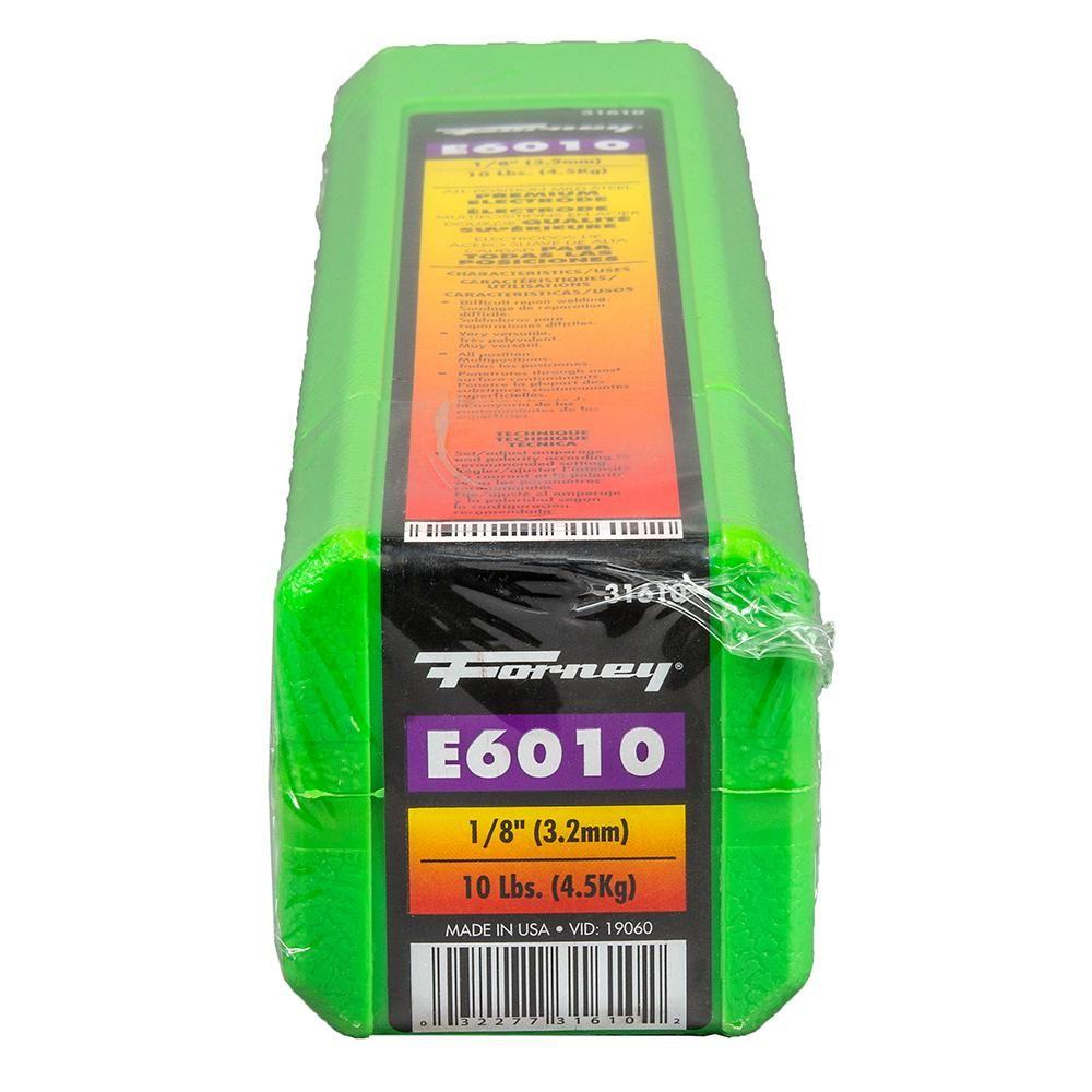 Forney 1 8 In E6010 Welding Rod 10 Lb In 2020 Welding Projects Welding Welding Table