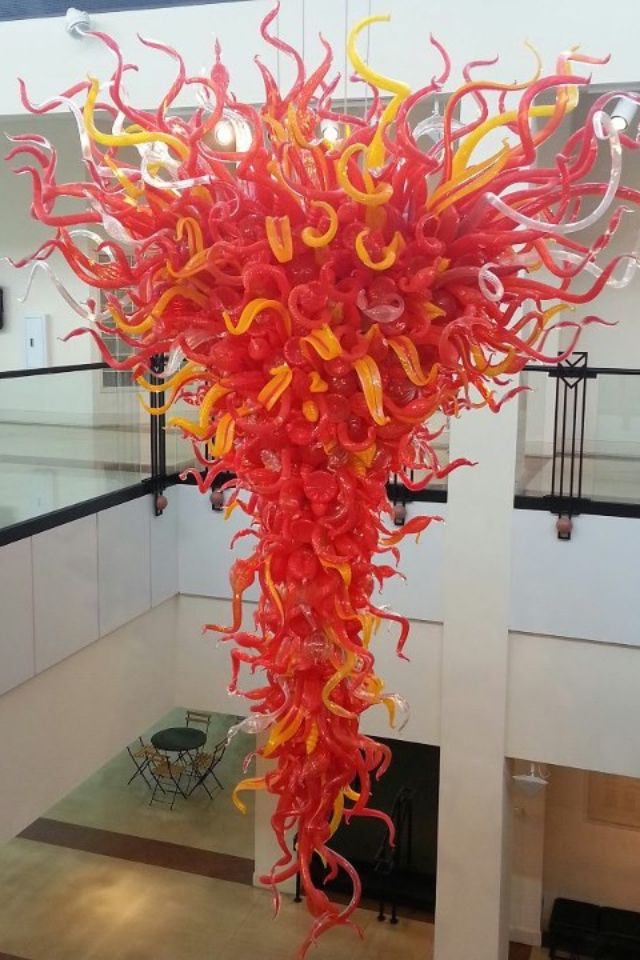 Chandelier By Dale Chihuly At Columbia South Carolina Museum Of
