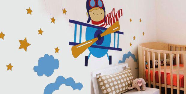 Murales infantiles de Keeddo \u2013 EntreChiquitines Dormitorios - murales con fotos