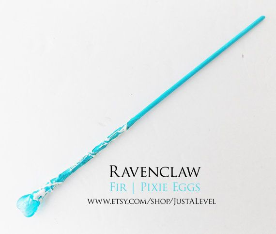 Cotton Candy Heart Harry Potter Inspired Wand by JustALevel