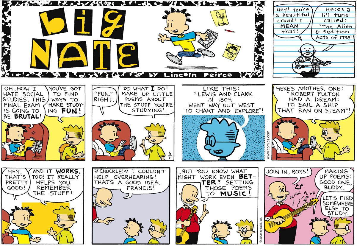 Comic Strips, Final Exams, Comics