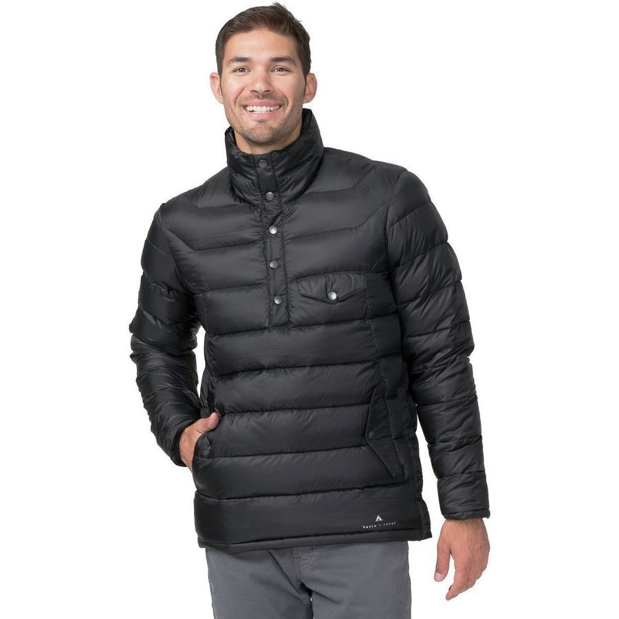Basin and Range - Wasatch 800 Down Pullover Jacket - Men's - Black ...