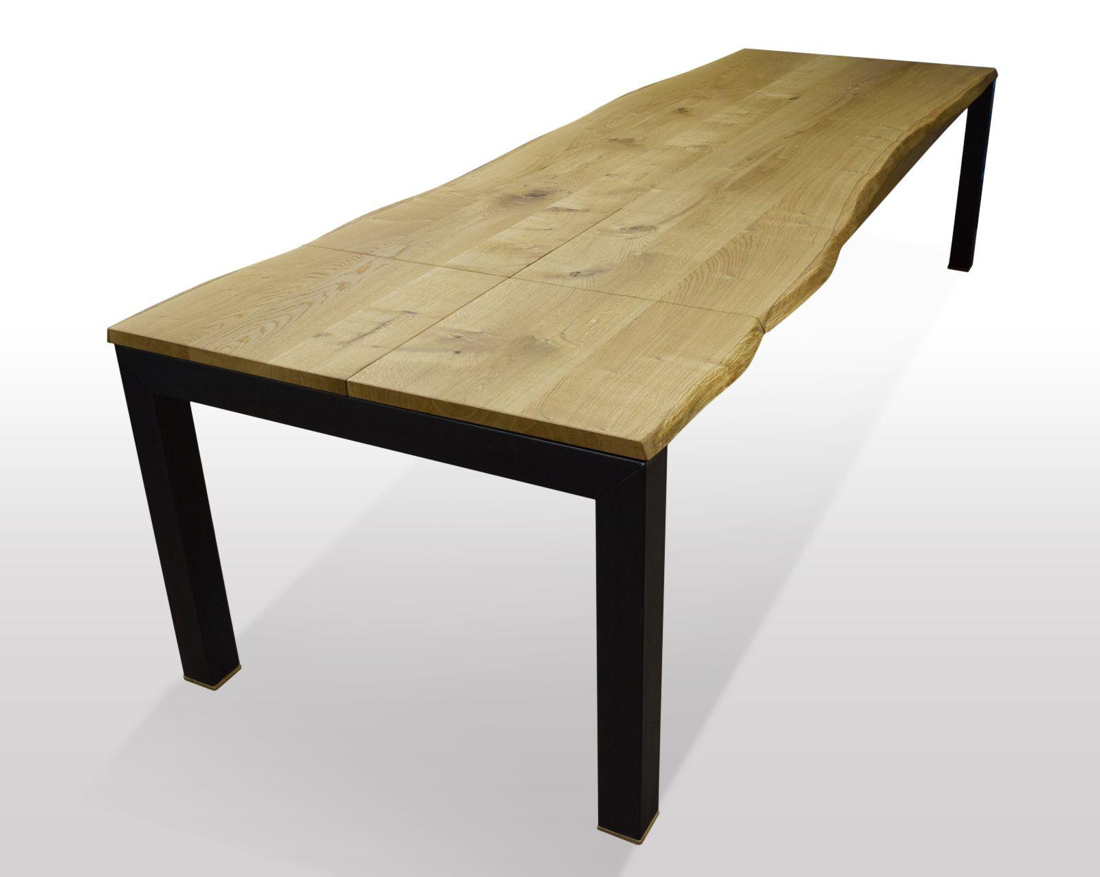 Pin Von Tischmoebel De Auf Baumtisch Wildeiche Ausziehbar Baumtisch Eiche