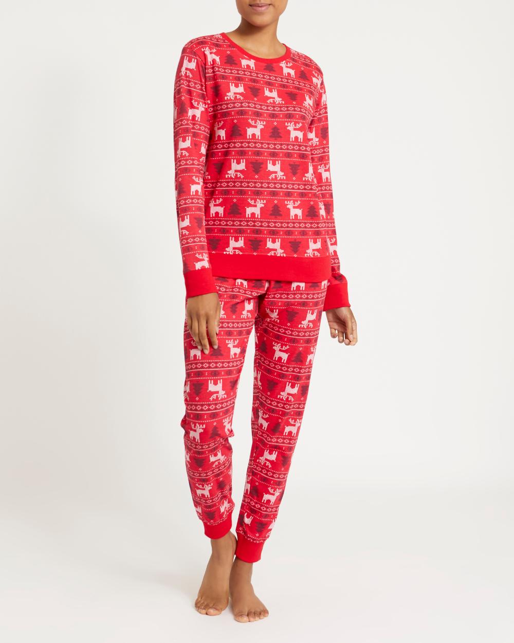 Dunnes Stores Print Christmas Family Fairisle Pyjamas