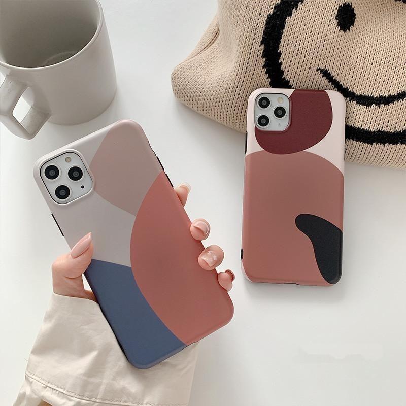 日本全品送料無料 大人でマットなレトロカラーmix 2色 iphoneケース abstract phone case iphone cases cool iphone cases