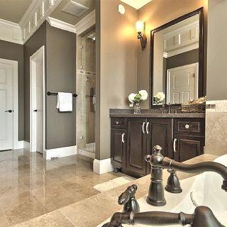 New Bathroom Paint Colors Brown Tile Ideas Home Painting Bathroom House Design
