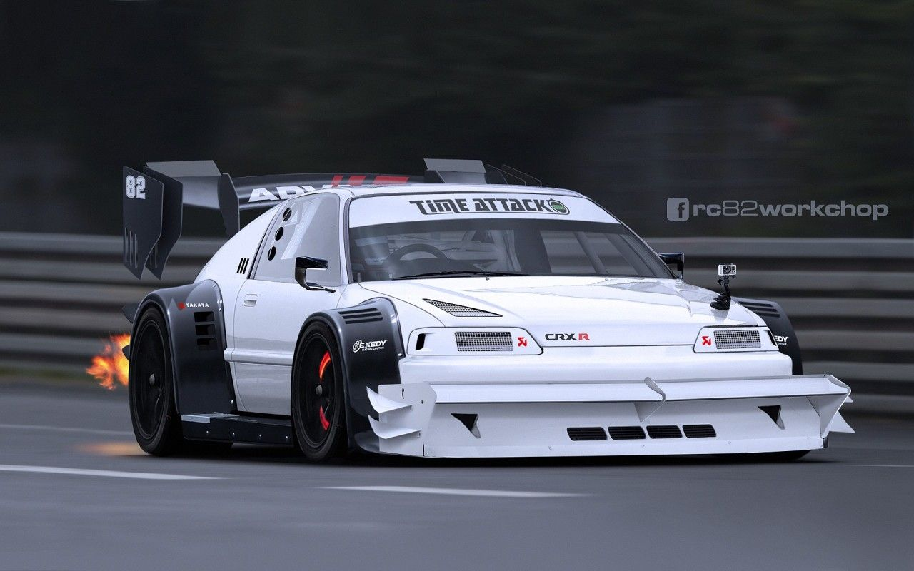 hight resolution of honda crx r by rc82 workchop