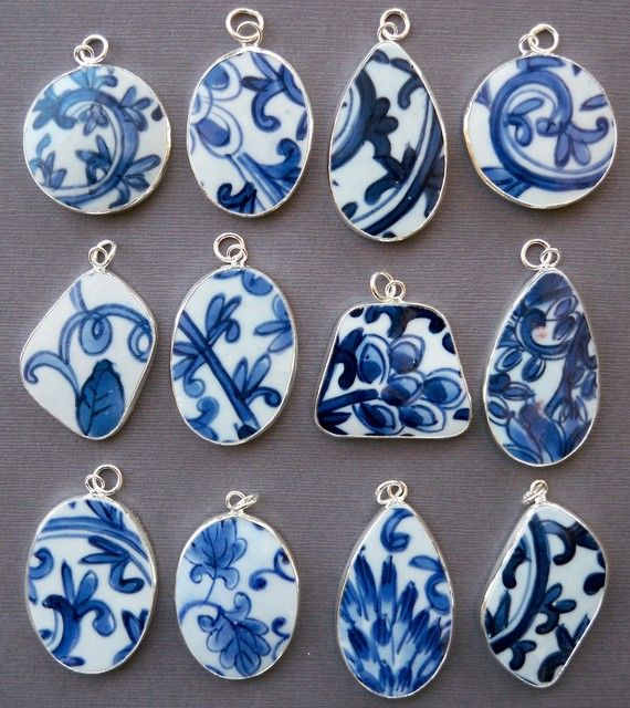 #pendants from #pottery pieces