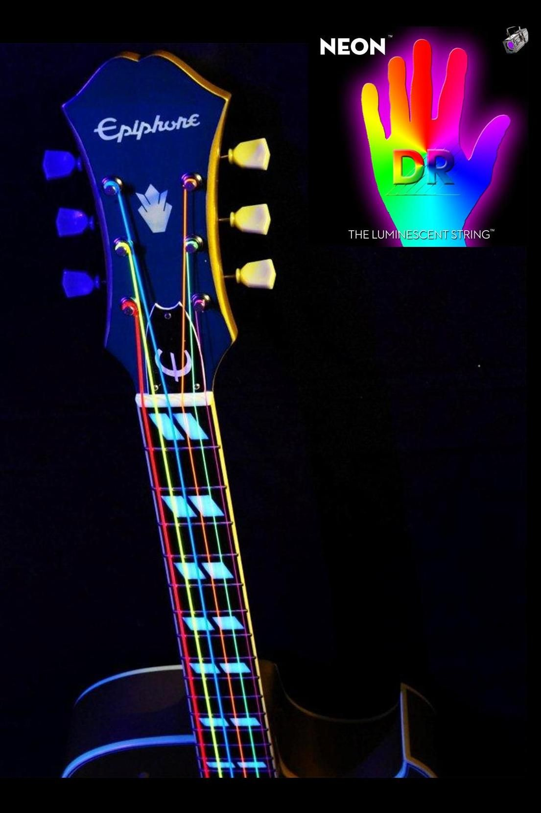 dr neon multi color set dr neon guitar bass strings color instruments guitar. Black Bedroom Furniture Sets. Home Design Ideas