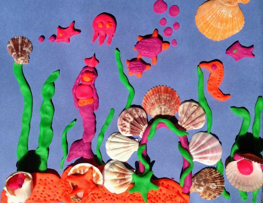 play dough and shell under the sea scene darlin u0027 it u0027s better