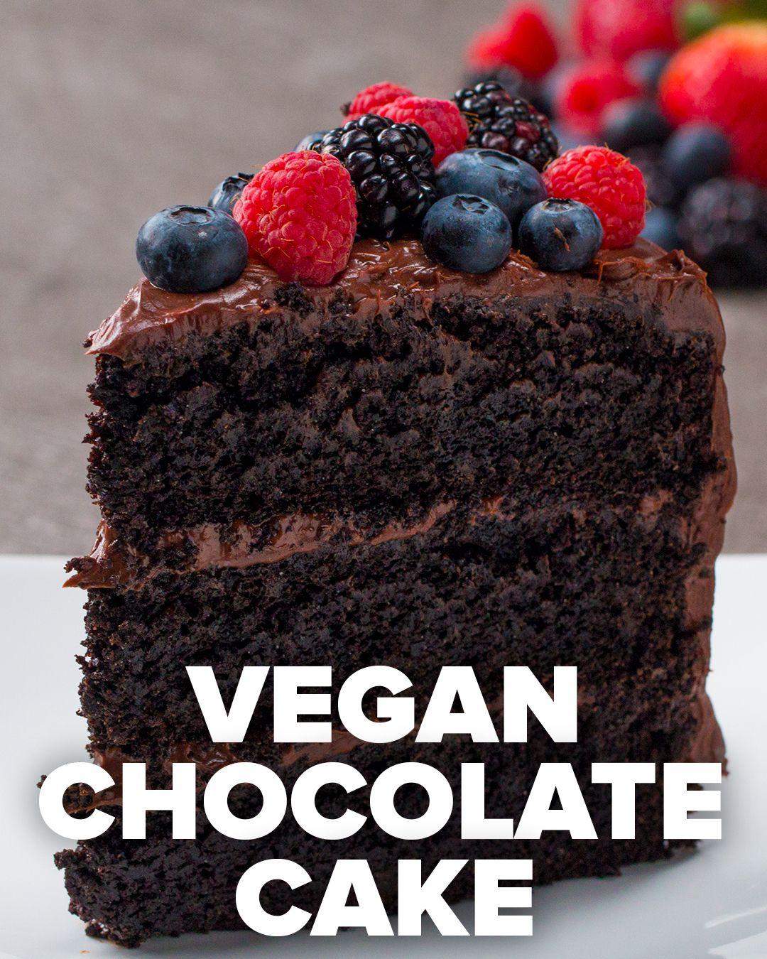 Fudgiest Dairy Free Chocolate Cake Recipe Dairy Free Chocolate