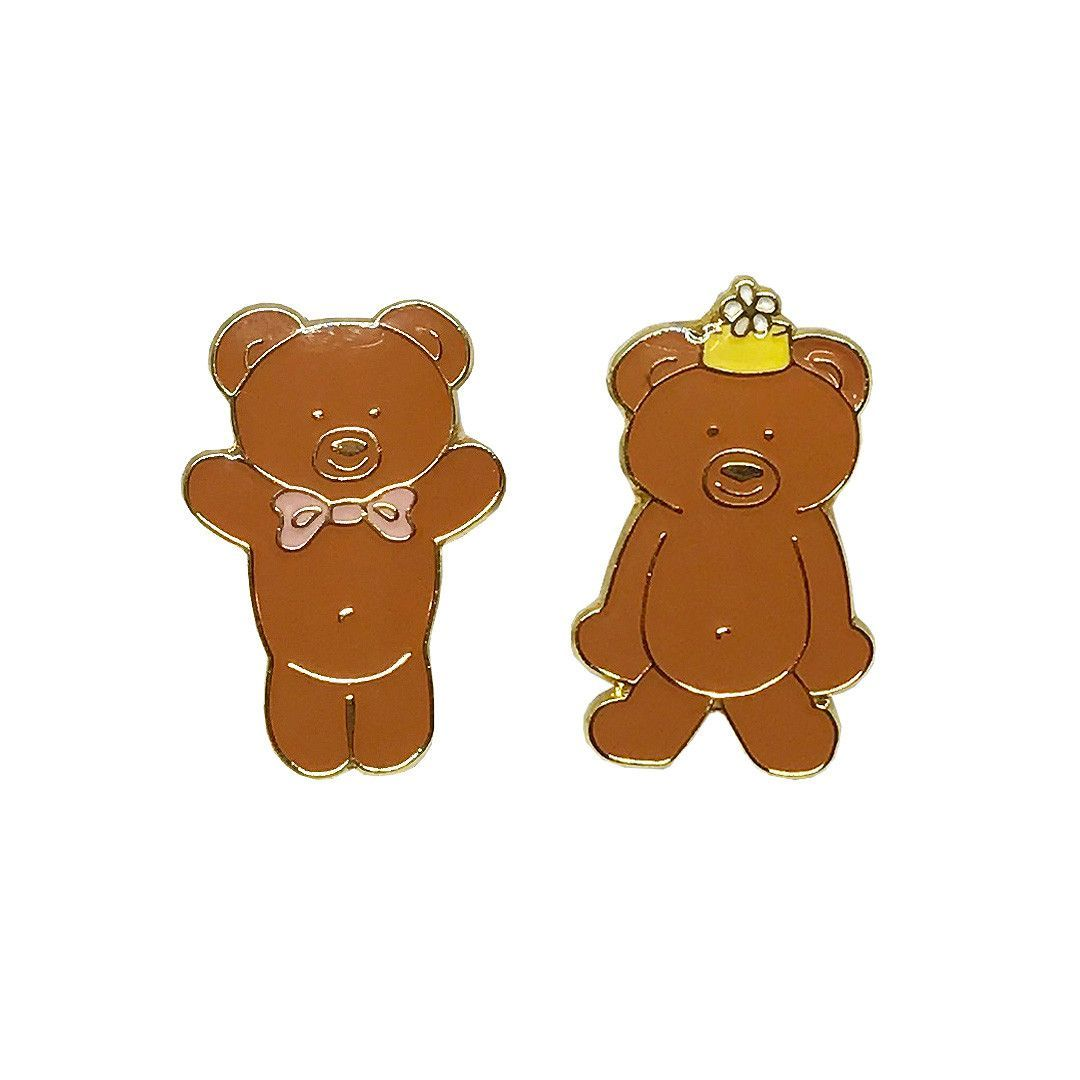 Graham Bear Best Pals lapel pin set