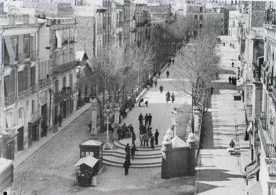 Paseo de la Reina. 1900. Archivo Ayuntamiento. Colección: FRANCISCO SÁNCHEZ