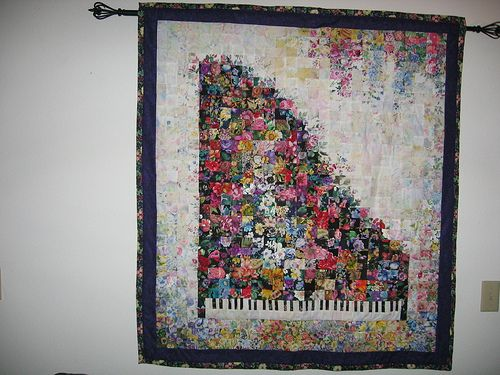 Piano Watercolor Quilt Watercolor Quilt Landscape Quilts Book