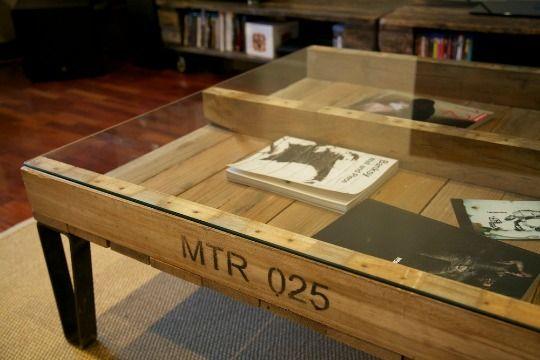 Pin de manuel en mesas de pal pinterest palets decoracion palets y muebles reciclados - Mesas de pale ...
