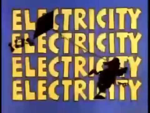 "School House Rock | Electricity | Cartoon Lesson Episode #35 of Schoolhouse Rock! : ""Electricity, Electricity""  Original Air Date: 1979 | Music/Lyrics: Bob Dorough | Performed by: Zachary Sanders"
