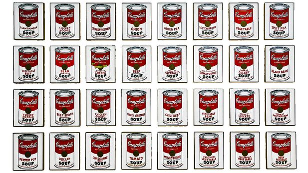 Andy Warhol Campbell S Soup Cans And Other Works 1953 1967 Museum Of Modern Art Moma Art In New York Andy Warhol Warhol Andy Warhol Soup Cans
