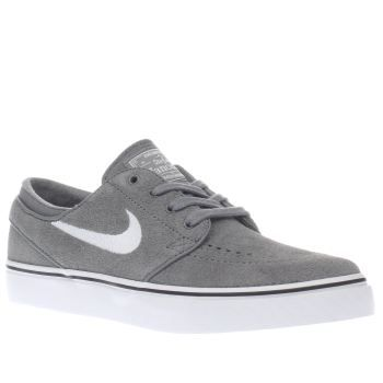 0563a15e6ebf Nike SB Grey Zoom Stefan Janoski Womens Trainers When it comes to the best  board feel