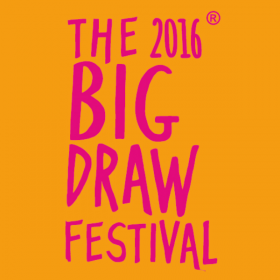 The Big Draw - Tekenen met textiel / 9 okt. bij FluXus Zaanstad