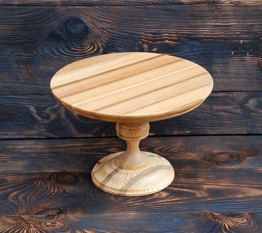Ready To Ship 12 Inches Cake Stand Clear Cake Stand Etsy Modern Cake Stand Wood Cake Stand Wedding Cake Stands