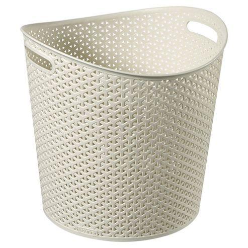 Yoga Mat Basket Curver My Style Round Storage Basket
