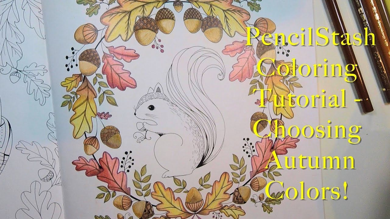 Adult Coloring Book Tutorial
