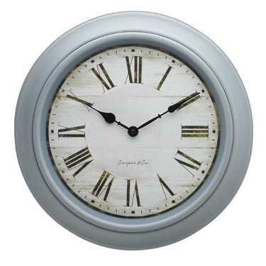 Cooper Co French Provincial Clock Blue 40 Cm Clock French Provincial Home Clock