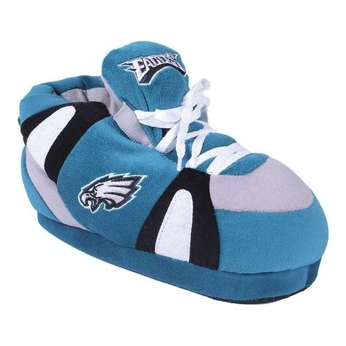 Happy Feet /& Comfy Feet OFFICIALLY LICENSED Mens /& Womens NFL Sneaker Slippers