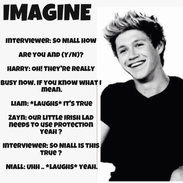 Niall Horan Imagines Pregnant | Via midnight memories
